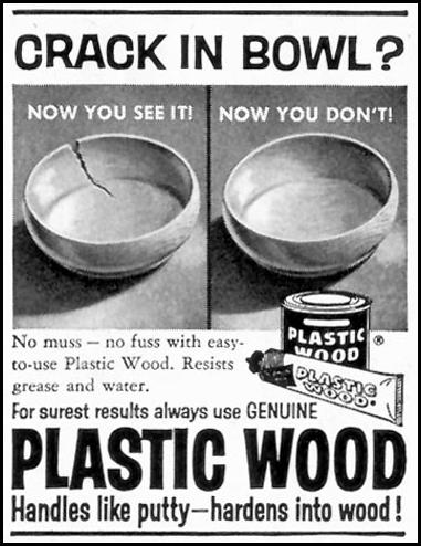 PLASTIC WOOD SATURDAY EVENING POST 08/15/1959 p. 95