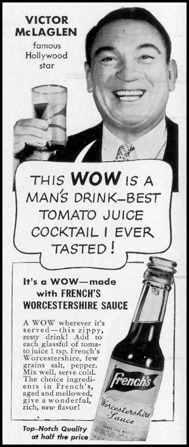FRENCH'S WORCESTERSHIRE SAUCE LIFE 06/01/1942 p. 68