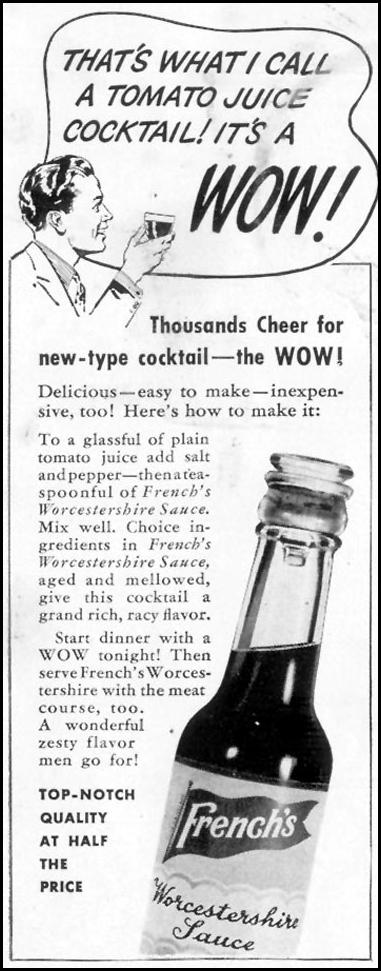 FRENCH'S WORCESTERSHIRE SAUCE LIFE 06/23/1941 p. 44
