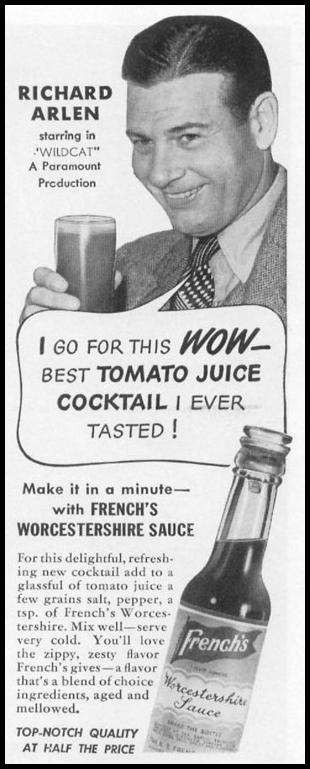 FRENCH'S WORCESTERSHIRE SAUCE LIFE 11/02/1942 p. 78