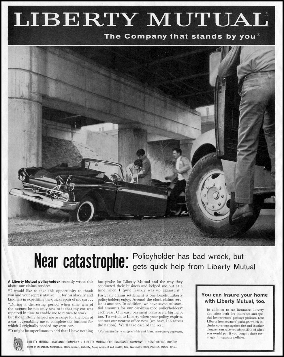 AUTO INSURANCE SATURDAY EVENING POST 05/02/1959 p. 2