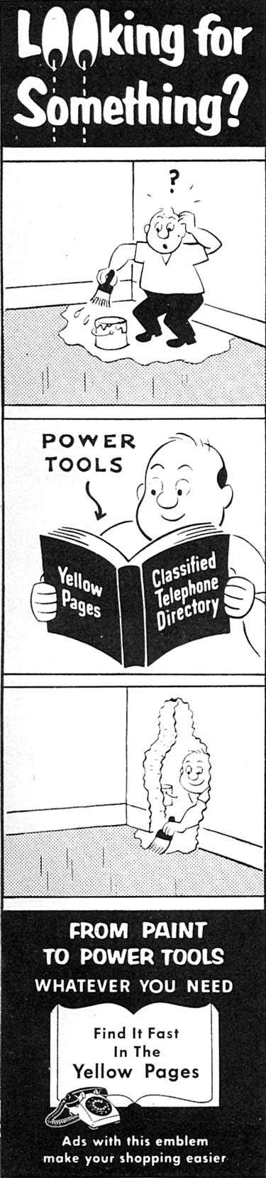 YELLOW PAGES FAMILY CIRCLE 02/01/1957 p. 4