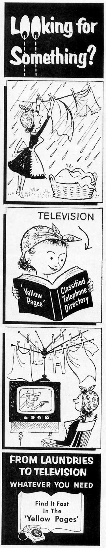 YELLOW PAGES SATURDAY EVENING POST 04/09/1955 p. 72