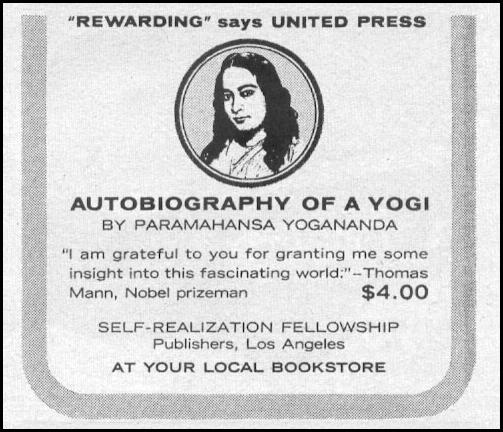 AUTOBIOGRAPHY OF A YOGI LIFE 12/14/1959 p. 129