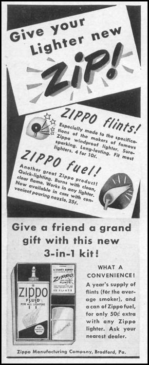 ZIPPO LIGHTER FLINTS AND FUEL LIFE 12/27/1948 p. 2